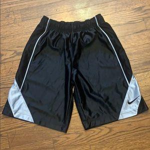 Boys black Nike shorts